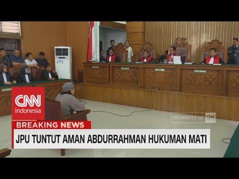 Breaking News! Aman Abdurrahman Dituntut Hukuman Mati - Terdakwa Kasus Bom Thamrin