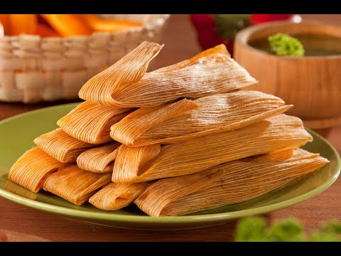 Homemade Mexican Pork Tamales