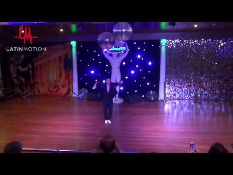 Latin  Motion's 8 time World Salsa Champion Oliver Pineda Salsa Shines
