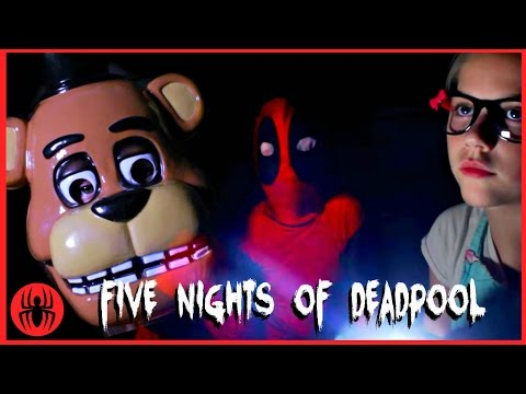 Thumbnail: A Five Nights at Freddy's Scary Halloween Story! Part 1 WARNING: JUMP SCARES! SuperHero Kids