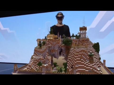 Minecraft Hololens demo at E3 2015 (amazing!)