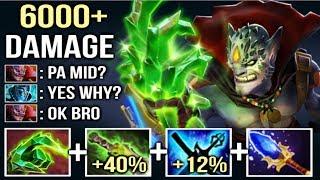 6000+ Damage Finger +52% Magic Lion vs Pa Mid Epic Fun Gameplay by Forev 31 Kills Dota 2