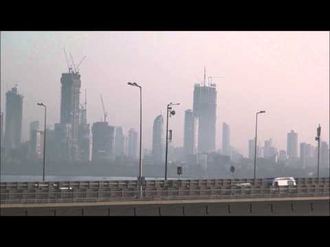 A Look at Soaring Skyline Of Mumbai Taken near Bandra Worli Sealink at Bandra