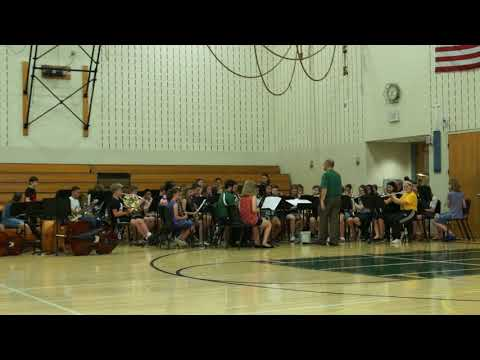 Pennridge South Middle School Pops Concert May 31st 2018 :  Band, Legends of Rock