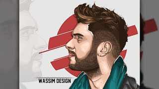 Photoshop cc | Vektör | Sanat Saç Öğretici