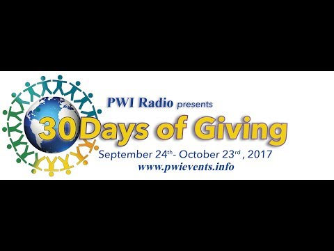 Dr Margaret Invites You to Join PWI Radio: 30 Days of Giving to Global Oneness Day