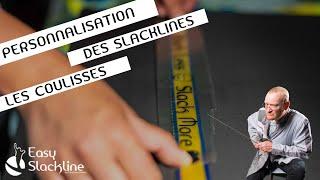 Vidéo: Personnalisation des slacklines