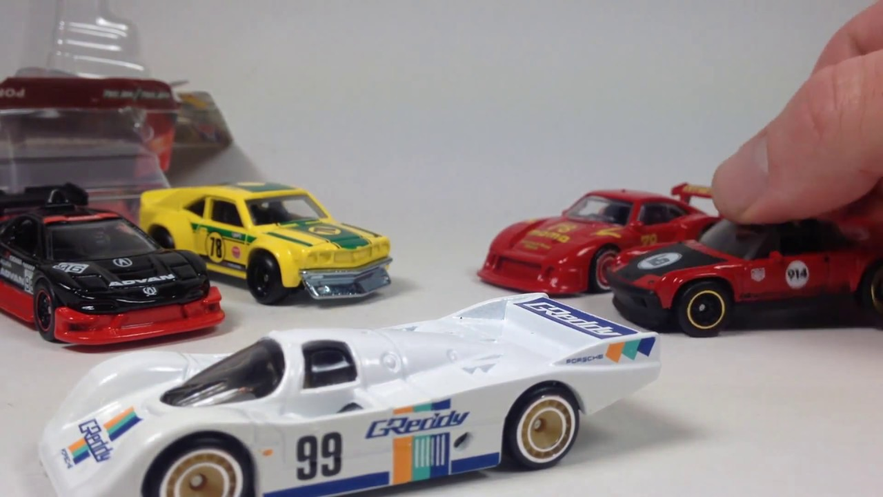 Race Day Hot Wheels Car Culture Series Review Youtube
