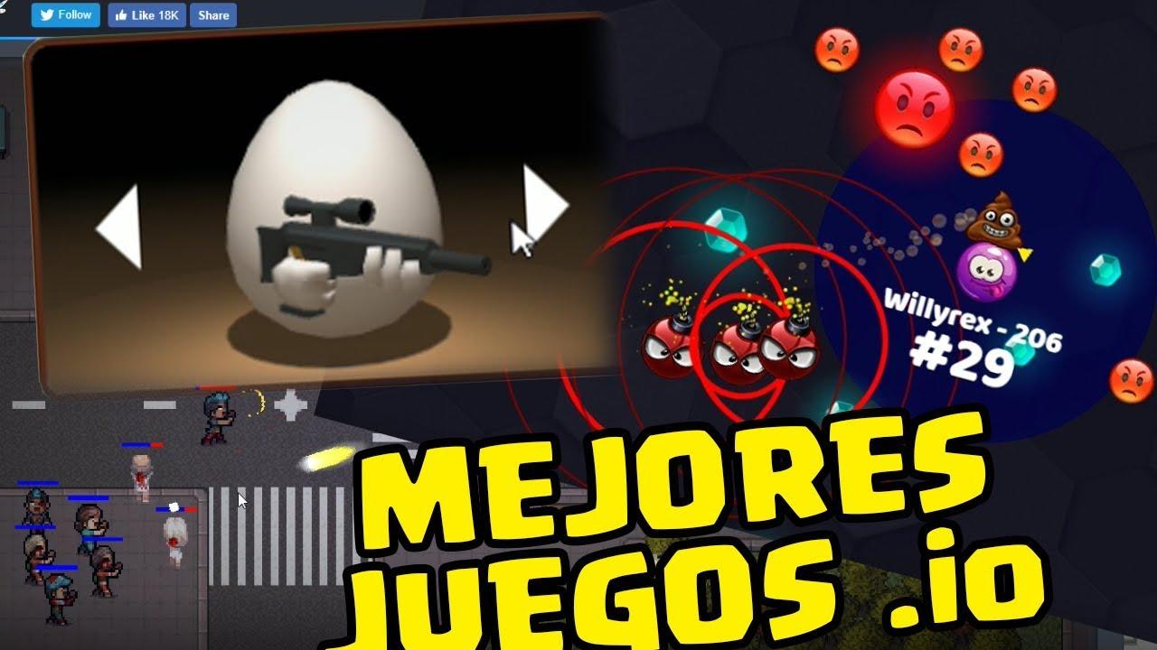 Mejores Juegos Io Youtube