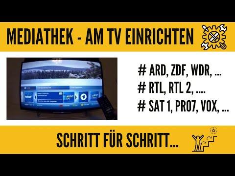 Mediathek ARD, ZDF, RTL, usw...! Was ist das??? Wie nutzt man es am TV! Ganz Einfach!!!