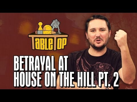 Betrayal at House on the Hill: Ashly Burch, Keahu Kahuanui, Michael Swaim join Wil on TableTop pt2