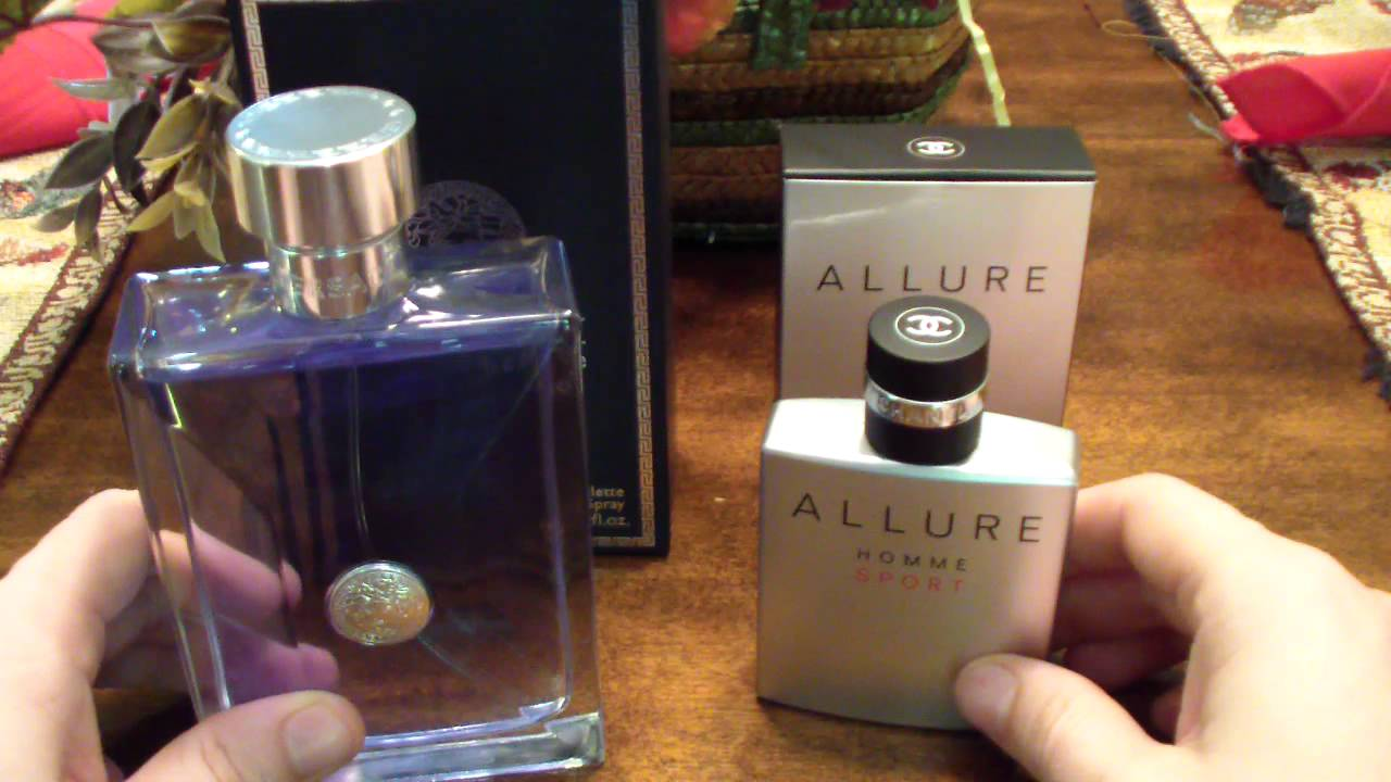 Cologne Fragrance comparison  Versace Pour Homme vs. Chanel Allure Homme  Sport - YouTube 5724fdb4624