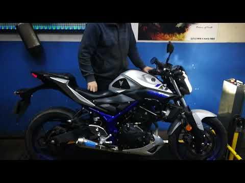 Yamaha mt25 ferik egzoz