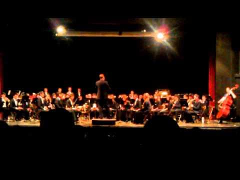 """Danny Boy"" performed by Lexington High School (LHS) Wind Ensemble, October 2012"