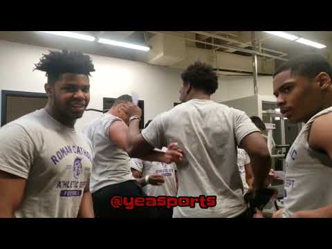 Roman Catholic High School | Football Team Winter Workouts | Rise Up