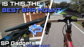 Bike Handlebar Phone Mount Review and Install - SP Gadgets SP Connect