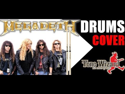 HOLY WARS : DRUM COVER : MEGADETH : TONE ACTIVE