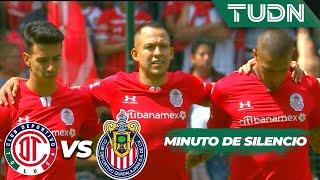 Se guarda un minuto de silencio | Toluca 0 - 0 Guadalajara | Liga MX - AP 2019  - J17 | TUDN