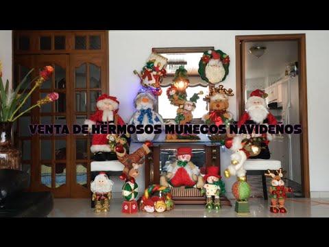 Venta Muñecos Navideños - YouTube ccb3a4b8a8f