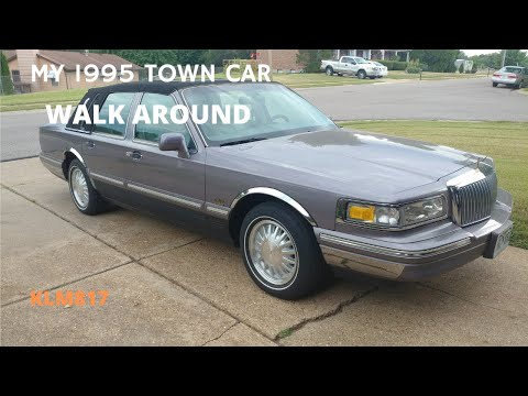 My 1995 Lincoln Town Car Cartier Youtube