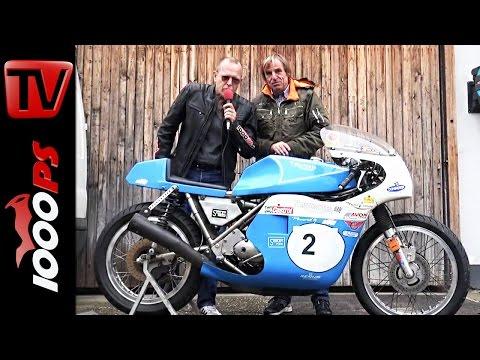 Gustl Auinger | Triumph 750 Seeley | Schwanenstadt 2016