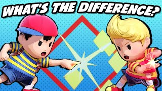 What's the Difference between Ness and Lucas? (SSBU)