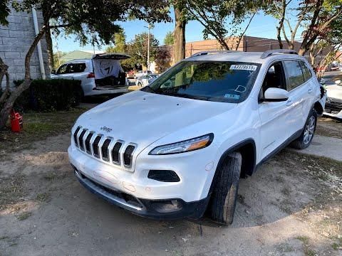 2018 Jeep Cherokee - 7600$. Настоящий Американец...АВТО ИЗ США.