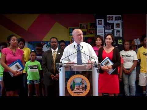 "Mayor Landrieu and New Orleans Health Department unveil ""Fit NOLA"" initiative"