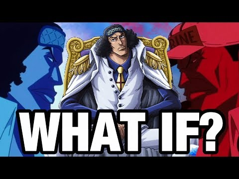WHAT IF: Aokiji Became The Marine Fleet Admiral? - One Piece Theory