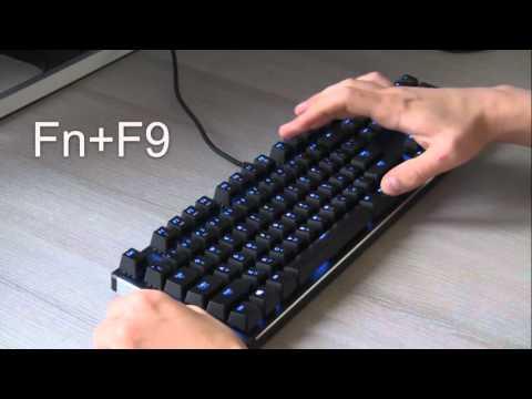 Как поменять цвет клавиатуры на пк