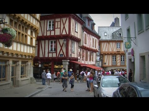 Strolling the Old City of Vannes, Brittany France