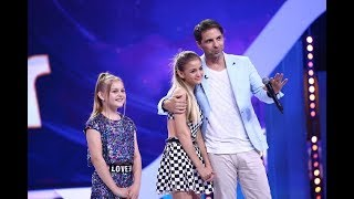 """Iuliana Beregoi, concurentă în sezonul 3 """"Next Star"""", a venit să-și susțină sora pe aceeași scenă"""