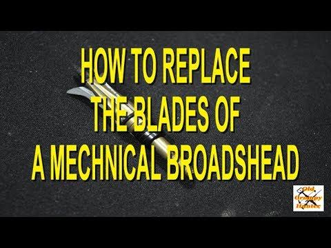 Blackout Lazer Strike II Broadhead Blade Replacement