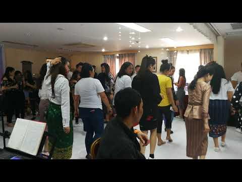 Lao traditional dancing @Shanghai Embassy