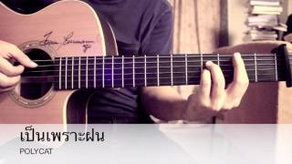 เป็นเพราะฝน-POLYCAT Fingerstyle Cover By Toeyguitaree (TAB)