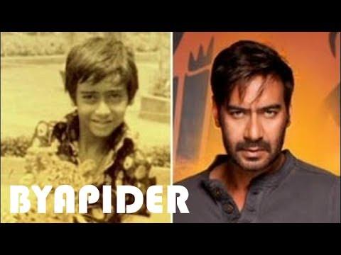 Ajay Devgan Childhood Photos    Rare & Unseen pictures!!!