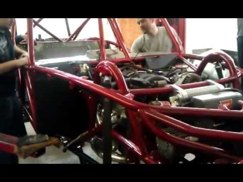 Wide Open Design Revolution chassis #1 first start