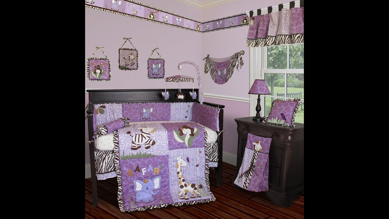 e7ae92328734a Custom Baby Beddings (Sisi Baby Designs) - Safari Baby Bedding - YouTube