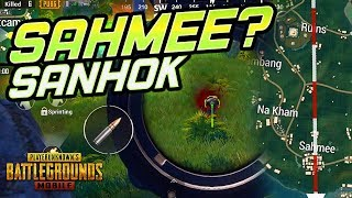 DROPPING SAHMEE... WHERE THE HECK IS THAT? PUBG Mobile