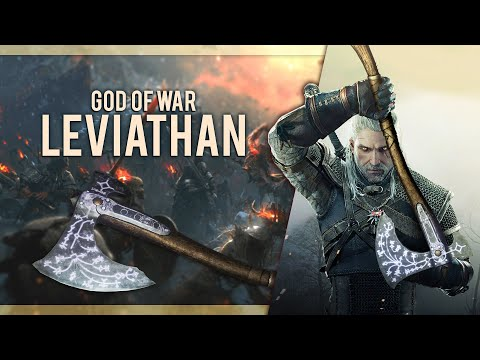 The Witcher 3 mod - God of War Leviathan