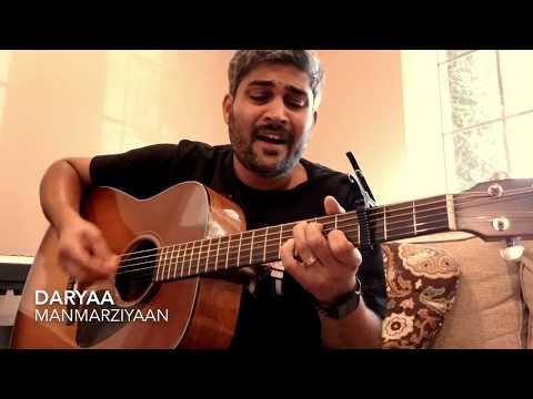 Daryaa Unplugged - Manmarziyan | Guitar Cover