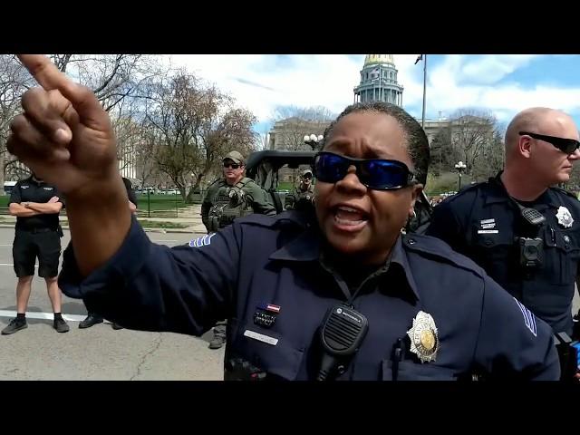 420 Festival (Pot Smoking) Preaching & Police Problems in Denver, Colorado | Kerrigan Skelly