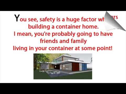 How much to build a shipping container home steel container homes youtube - How much to build a container home ...