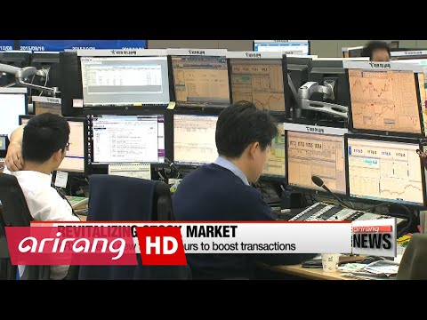 Main Korean stock market to extend trading hours starting Monday