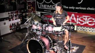 Greenbrier Percussion - Sonor Select Force Studio Brown Galaxy Sparkle Drum Solo