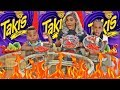 HOT CHEETOS AND TAKIS CHALLENGE WITH OUR MOM