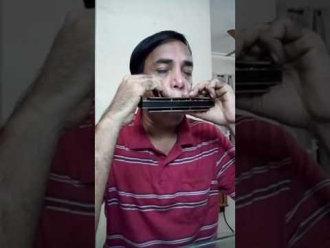 Hi Duniya Usiki played by K V Krishna Rajendra on Harmonica(Larry Adler)