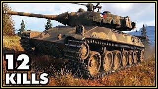 TVP T 50/51 - 12 Kills - World of Tanks Gameplay