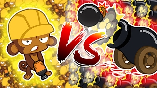 Bloons TD Battle   BOMBS TOWERS VS ENGINEERS - ARE ENGINEERS OVER POWERED?