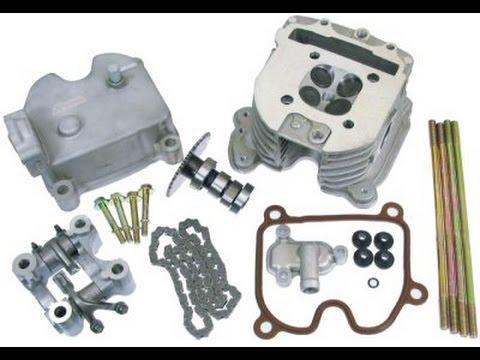 GY6 4 valve performance head